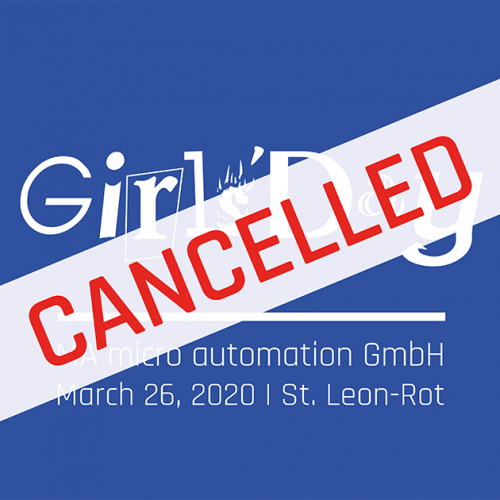 Banner Girls Day 2020 en cancelled