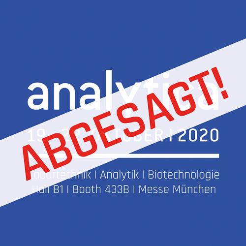 Banner analytica 2020 abgesagt