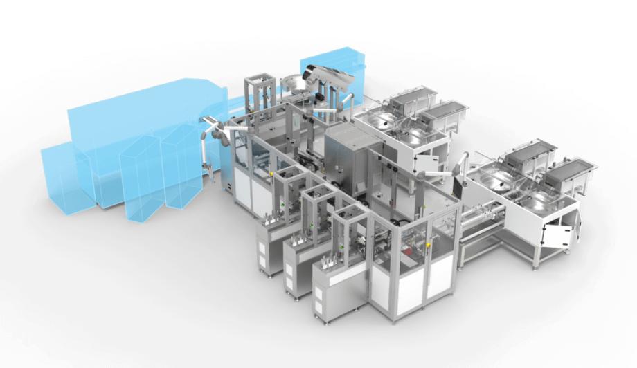 Production line POC Antigen Test